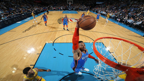 Highlights: Thunder vs. Lakers