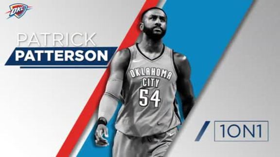 1-on-1: Patrick Patterson - 1/21