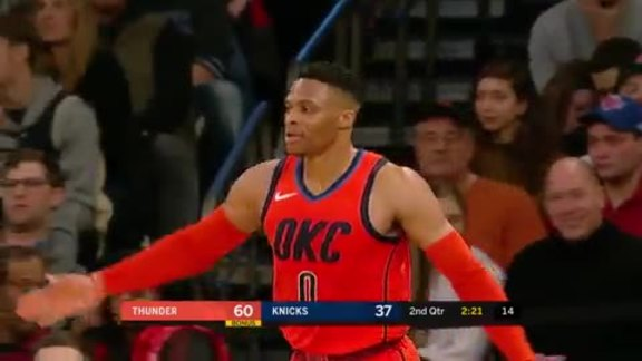 Highlights: Thunder at Knicks