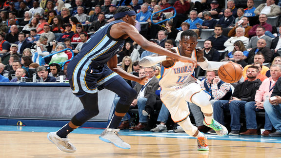 Highlights: Thunder vs. Grizzlies