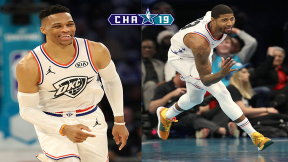 All-Star Game Highlights: Russell Westbrook, Paul George