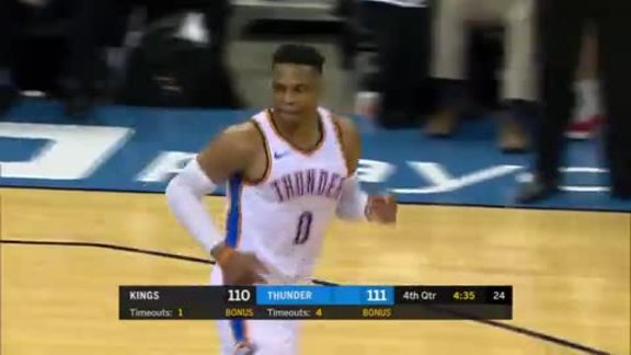 Highlights: Thunder vs. Kings
