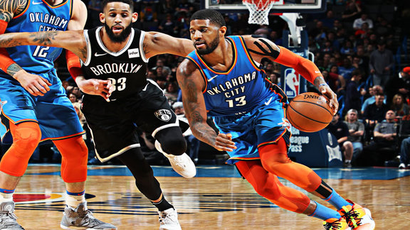 Highlights: Thunder vs. Nets