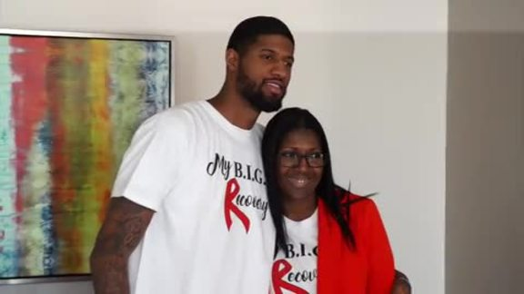 Paul George's B.I.G.G. Event Inspires Stroke Survivors