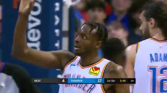 Highlights: Thunder vs. Heat