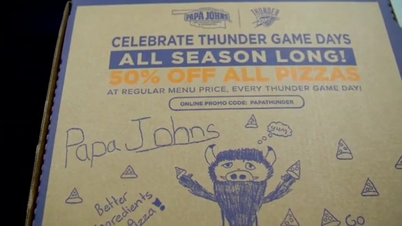 Papa John's Box Contest Winner