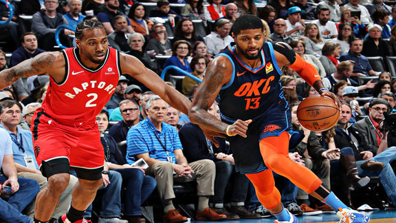 Highlights: Thunder vs. Raptors