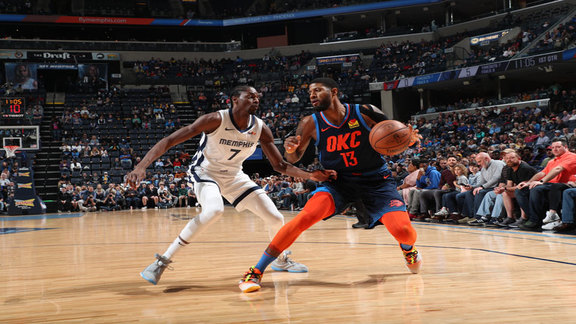 Highlights: Thunder at Grizzlies