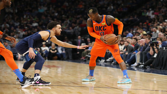 Highlights: Thunder at Timberwolves