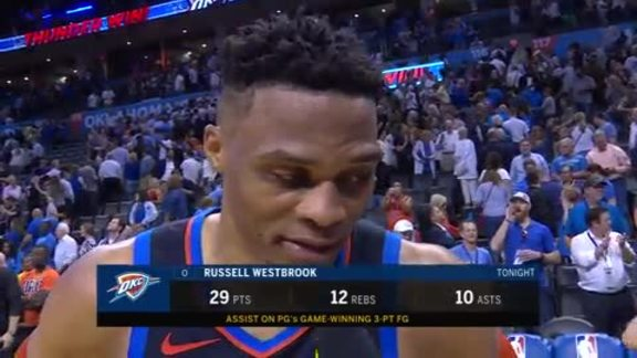 Walk-Off: Russell Westbrook - 4/9