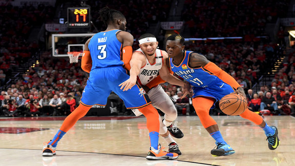 Game 2 Highlights: Thunder at Blazers