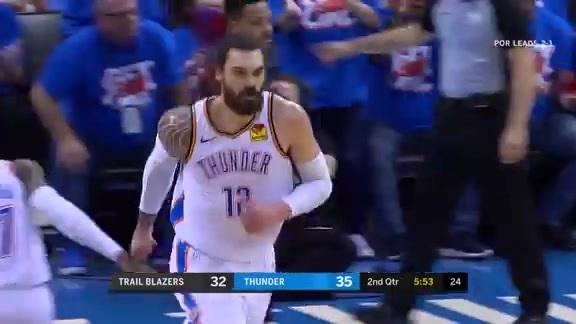 Game 4 Highlights: Thunder vs. Blazers