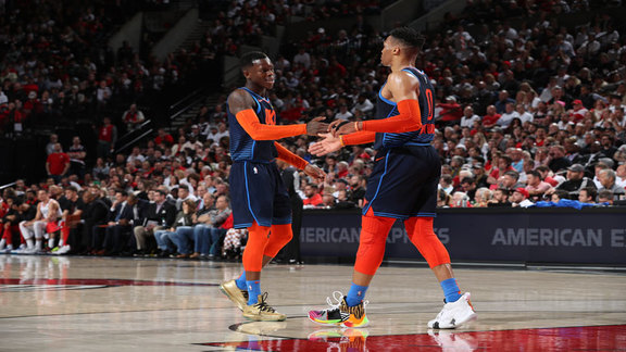Game 5 Highlights: Thunder at Blazers