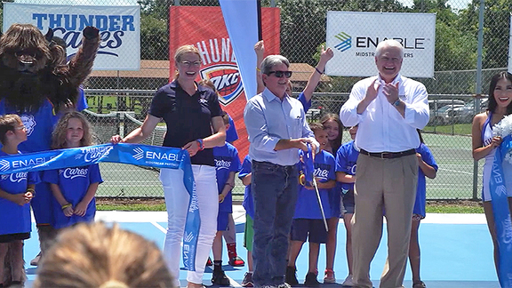 Thunder, Enable Dedicate Court in McAlester