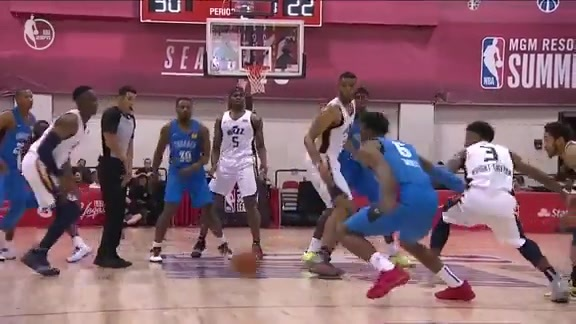 Highlights: Summer League vs. Jazz
