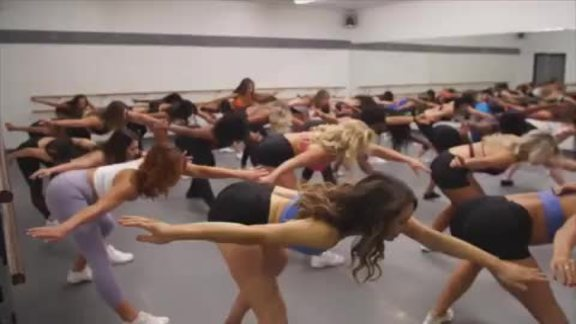 Behind the Scenes: Thunder Girls Audition