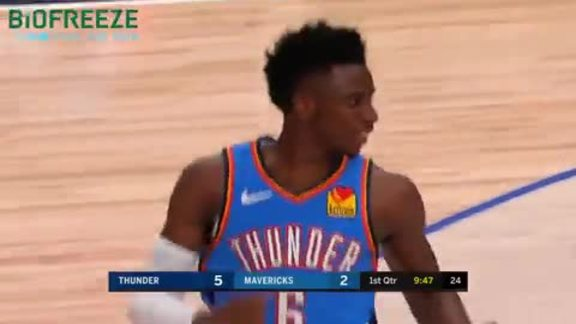 Highlights: Thunder at Mavericks