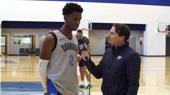 1-on-1: Shai Gilgeous-Alexander - 10/16