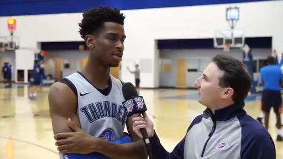 1-on-1: Shai Gilgeous-Alexander - 10/23