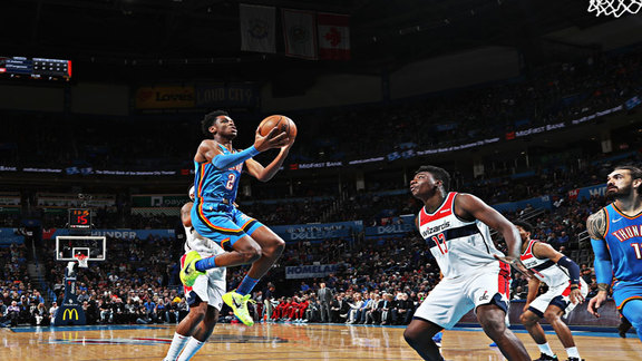 Highlights: Thunder vs. Wizards