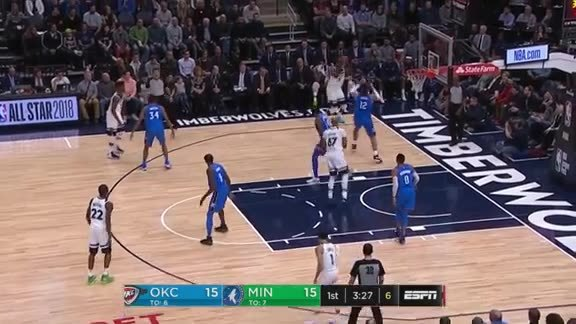 Dieng Drives For The Dunk
