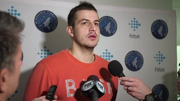 Shootaround Access - Jan. 14 | Nemanja Bjelica