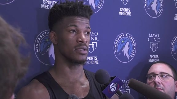 Practice Report - Feb. 22 | Jimmy Butler
