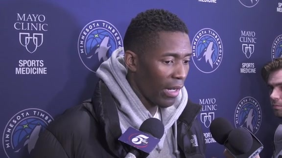 Practice Report - Feb. 22 | Jamal Crawford