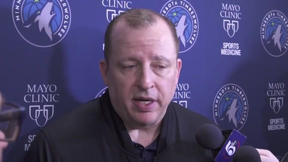 Practice Report - Feb. 22 | Tom Thibodeau