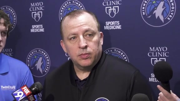 Practice Report - March 7 | Tom Thibodeau