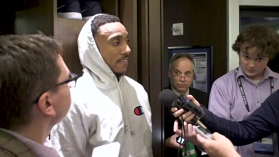 Postgame - March 8 | Jeff Teague