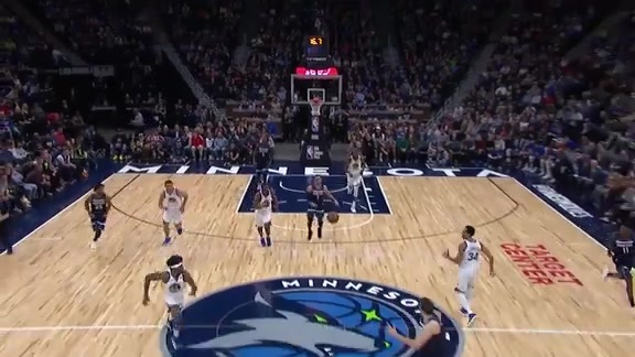 Bjelica With The Fastbreak Slam