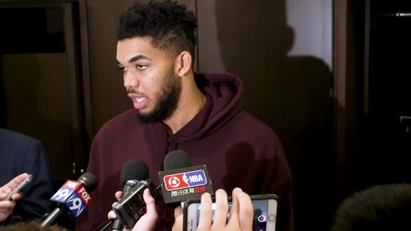 Postgame - March 18 | Karl-Anthony Towns
