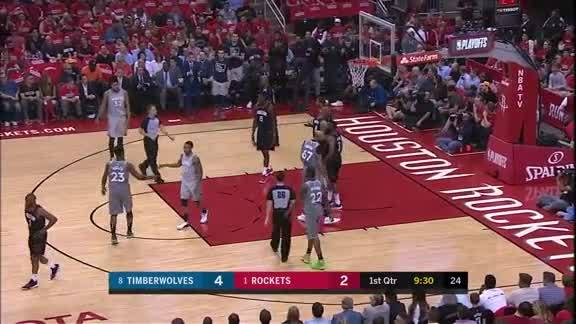 Teague With The Crossover For 3-Point Play