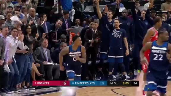 Wiggins To Teague For 3