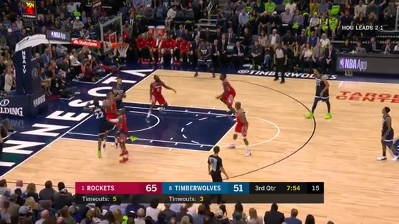Wiggins To Butler For 3