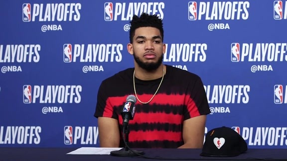 Postgame - Game 4 | Karl-Anthony Towns