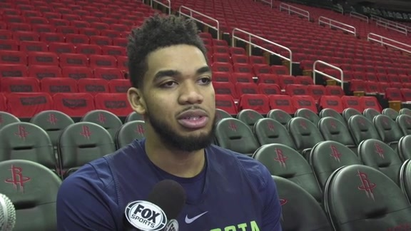Shootaround Access - Game 5 | Karl-Anthony Towns