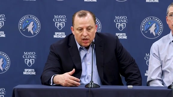 2018 Post-Draft Press Conference | Tom Thibodeau And Scott Layden