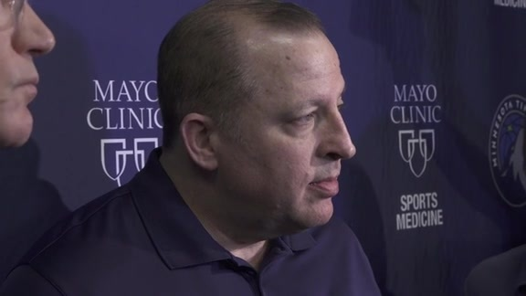 Free Agency Press Conference | Tom Thibodeau And Scott Layden
