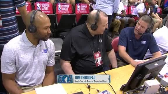 Tom Thibodeau Interview At Summer League