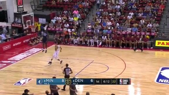 Jared Terrell With The Steal And Slam