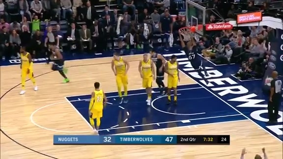 Minnesota Timberwolves Top 10 Plays From 2017-18 NBA Season