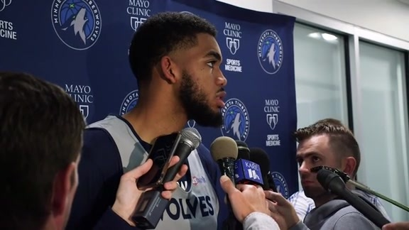 Practice Report - Sept 25 | Karl-Anthony Towns
