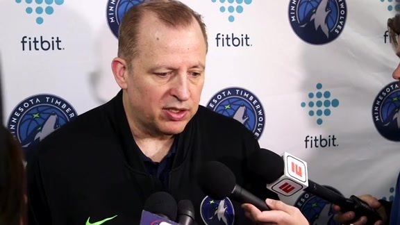 Shootaround Access - Oct. 19 | Tom Thibodeau