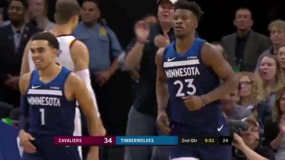 Tyus With The Oop To Butler