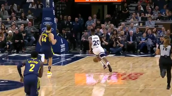 Okogie Highlights vs. Pacers