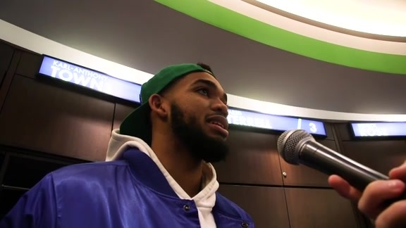 Postgame - Oct. 31 | Karl-Anthony Towns