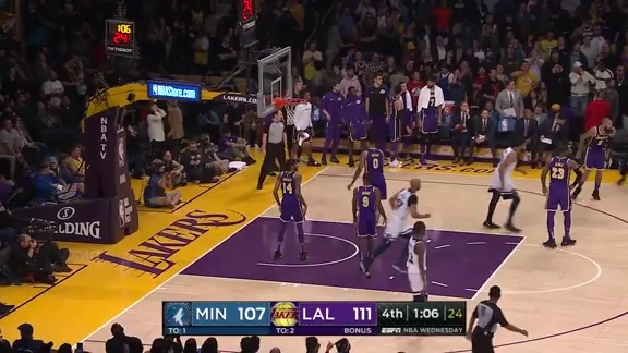 Highlights: Rose Scores 31 Points vs. Lakers