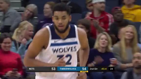 Towns With The Huge Put Back